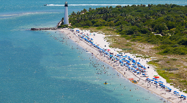 Cape Florida Beach