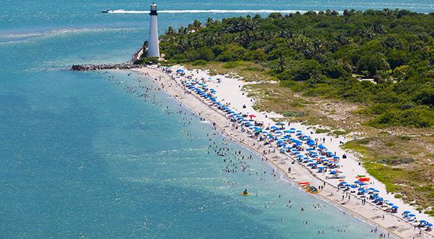 Cape Florida Beach