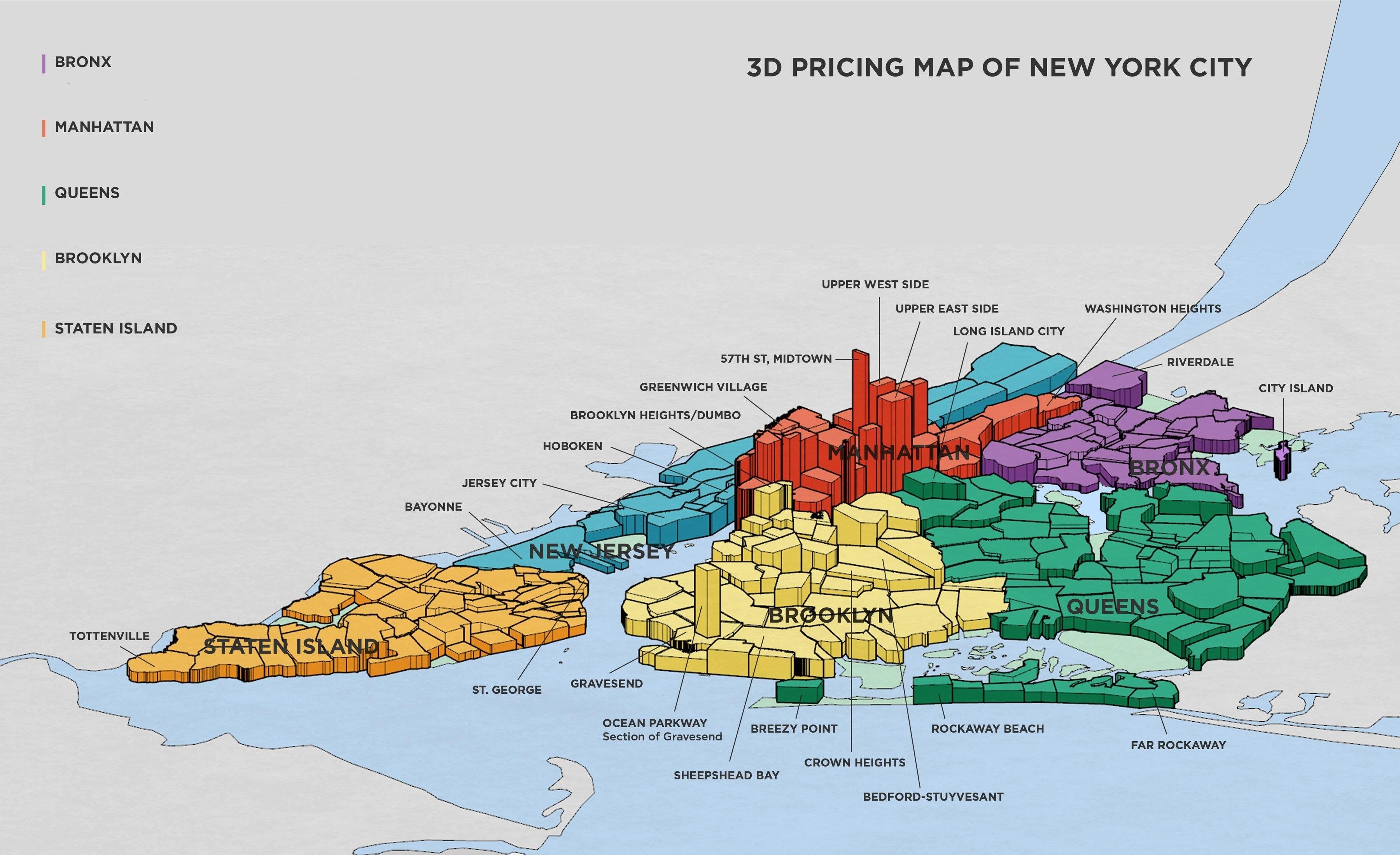 quartieri di new york i pi famosi ed i pi pericolosi
