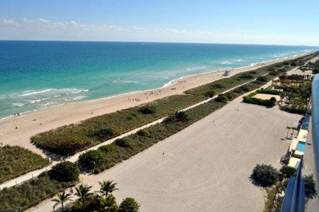 Surfside, Miami Beach spiaggia