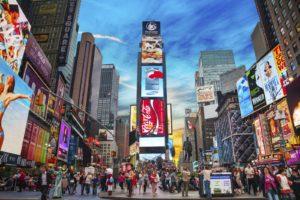 Times Square, luogo da visitare a New York City