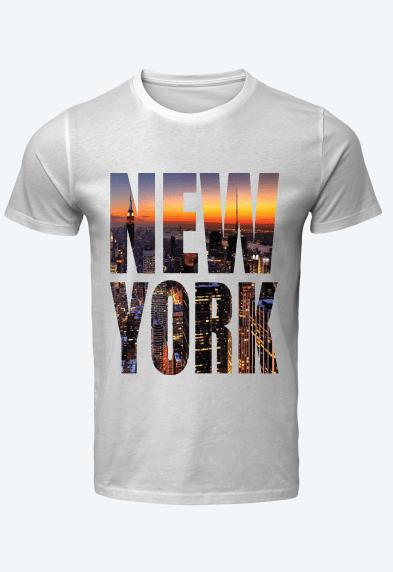 NY Sunset   T-Shirt