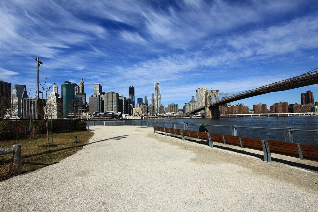 Ponte di Brooklyn Bridge Park