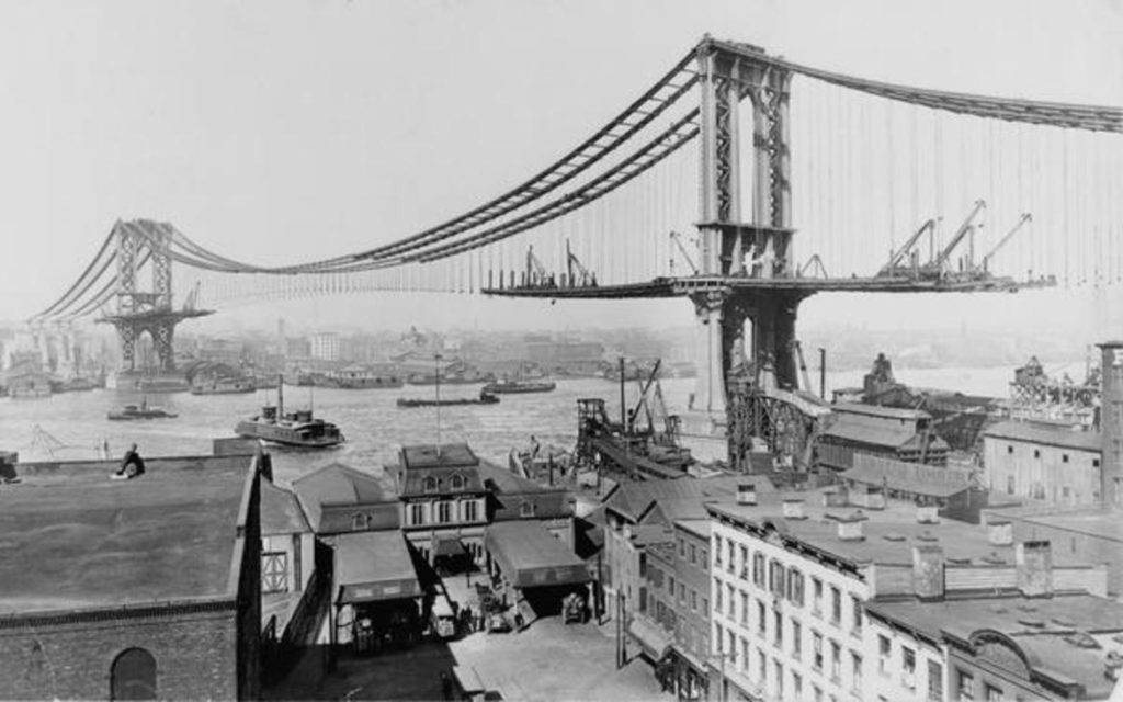 brooklyn bridge materiale