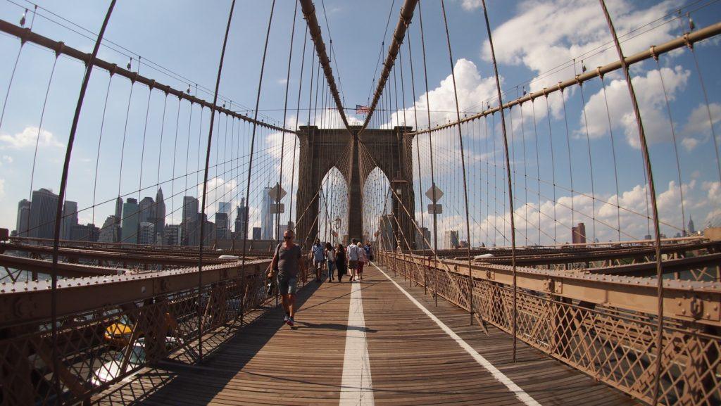 percorrere brooklyn bridge