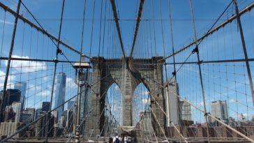 visitare ponte brooklyn bici